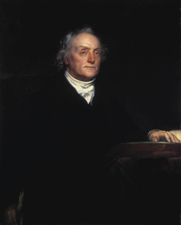Rev. Thomas Chalmers, 1780 - 1847. Preacher and social reformer (1840)