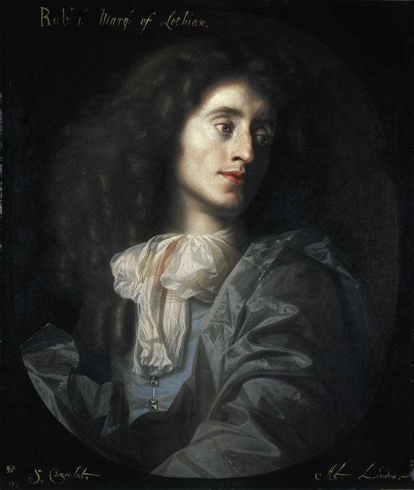 Robert Kerr, 1st Marquess of Lothian, 1636 - 1703. Statesman (About 1678)