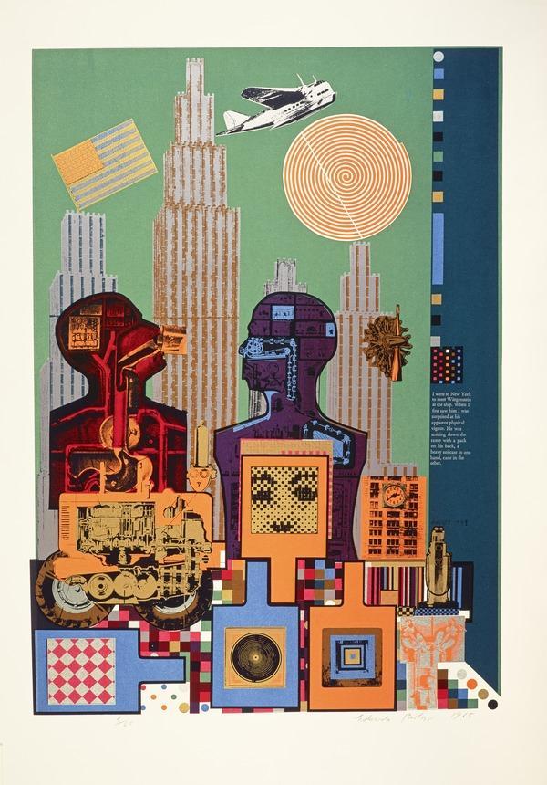 Wittgenstein in New York. From As is when (1964)