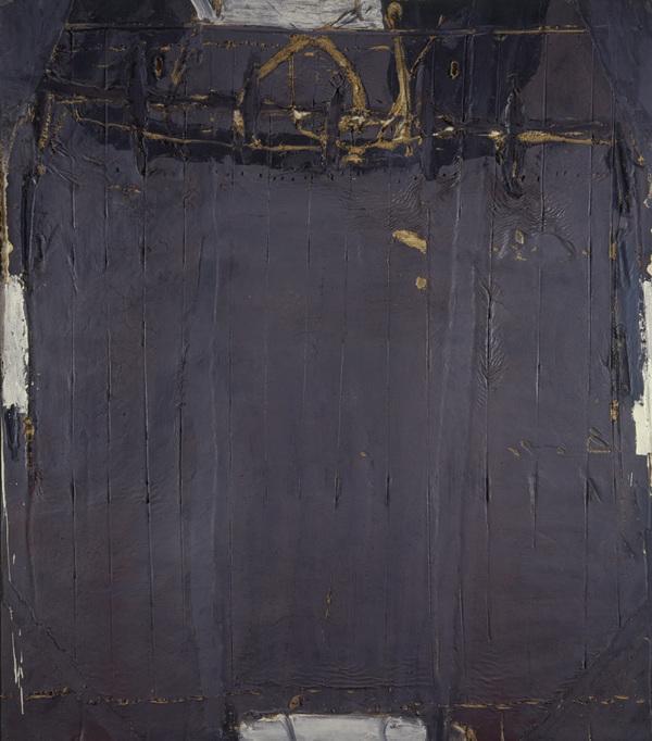 Gris Violacé aux Rides [Violet Grey with Lines] (1961)