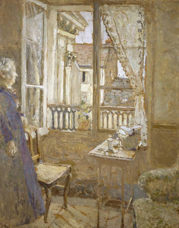 La Fenêtre ouverte [The Open Window] (About 1902 - 1903, reworked 1915)