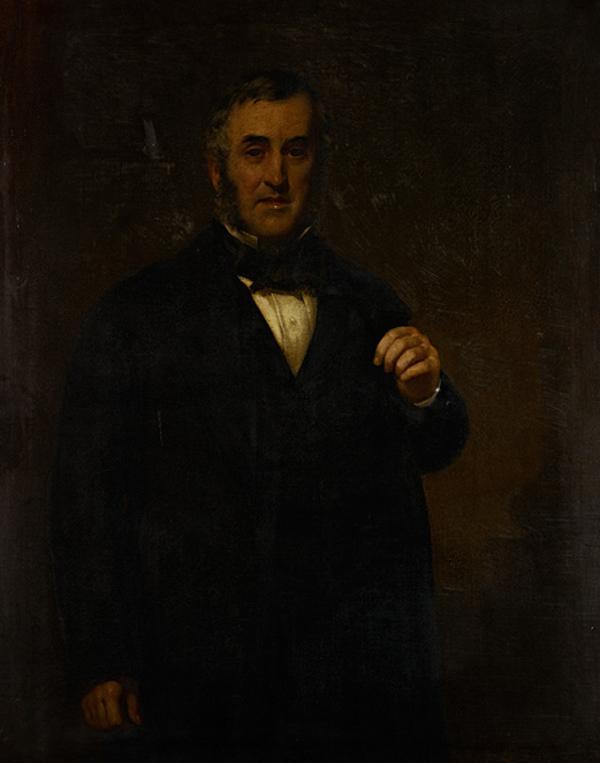 Alexander Whitelaw, 1823 - 1879. Industrialist and philanthropist (About 1870)