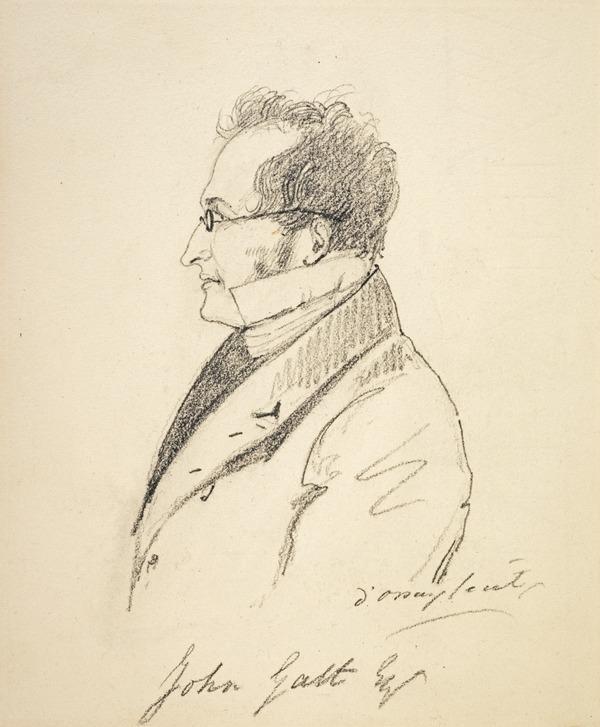 John Galt, 1779 - 1839. Novelist (about 1835)