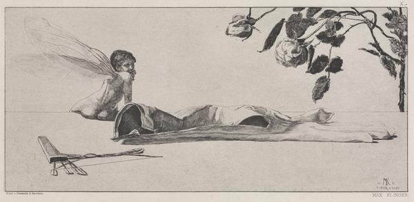 Amor (Cupid) [plate 10]. From the series 'On the Finding of a Glove' (First published 1881 (this 5th edition 1924))