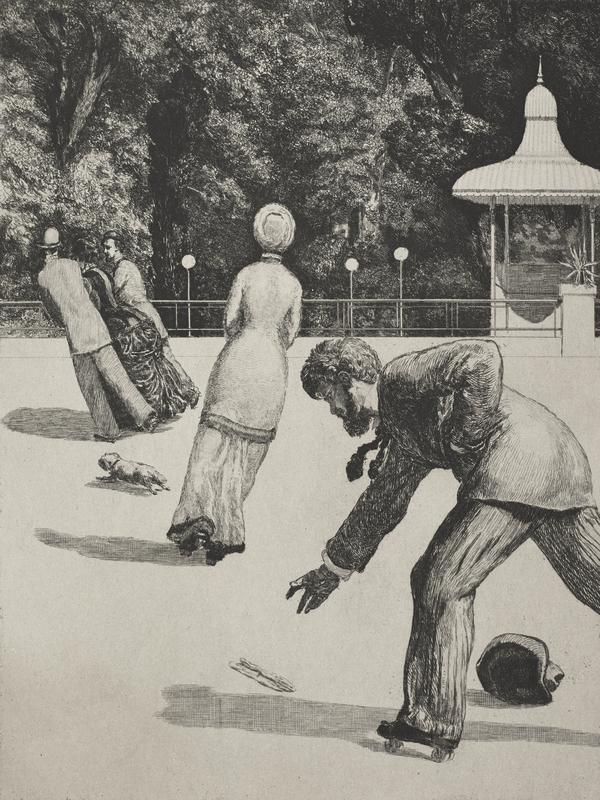 Handlung (Action) [plate 2]. From the series 'On the Finding of a Glove' (First published 1881 (this 5th edition 1924))
