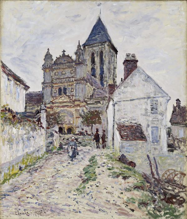 The Church at Vétheuil (1878)