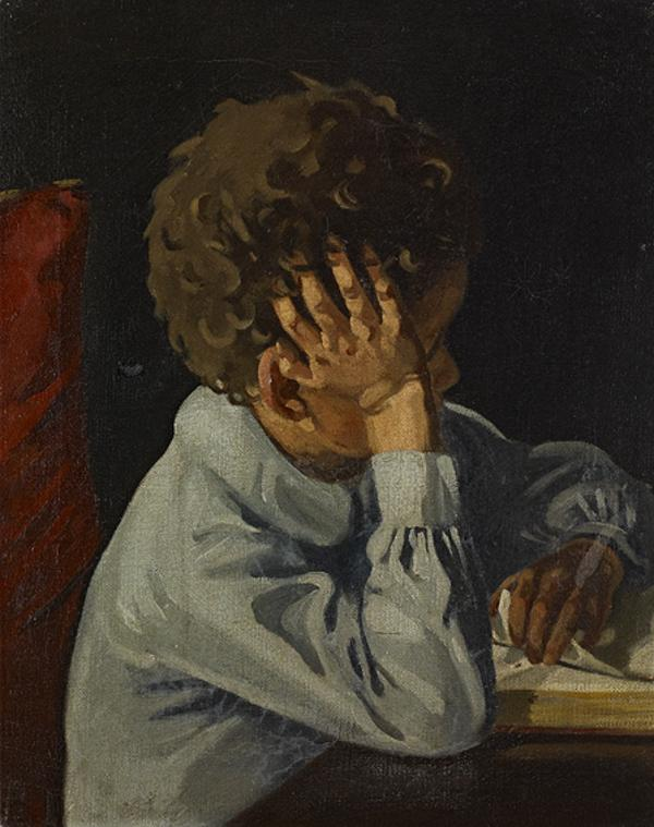Study of a Child (About 1910)