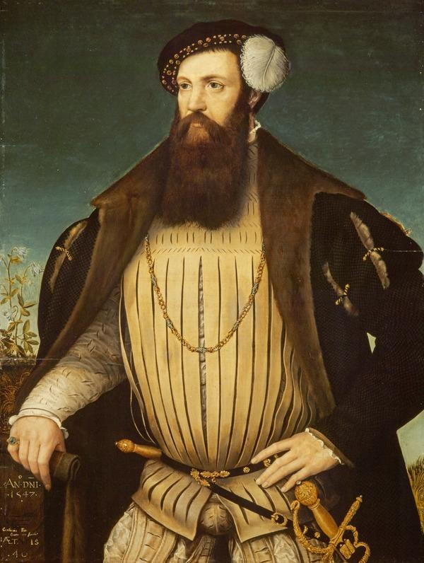 Portrait of a Man, probably John Digby of Ab Kettleby (Dated 1547)