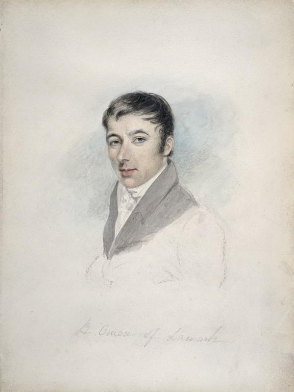 Robert Owen, 1771 - 1858. Pioneer socialist (about 1800)