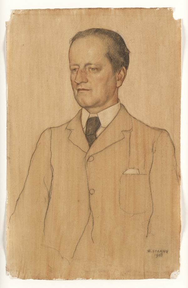 Portrait of Galsworthy
