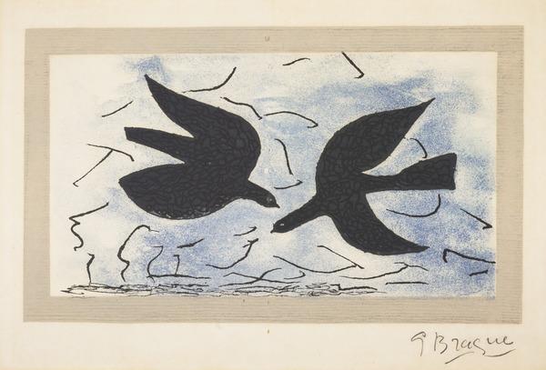 Les deux oiseaux (Oiseau X) (1956)