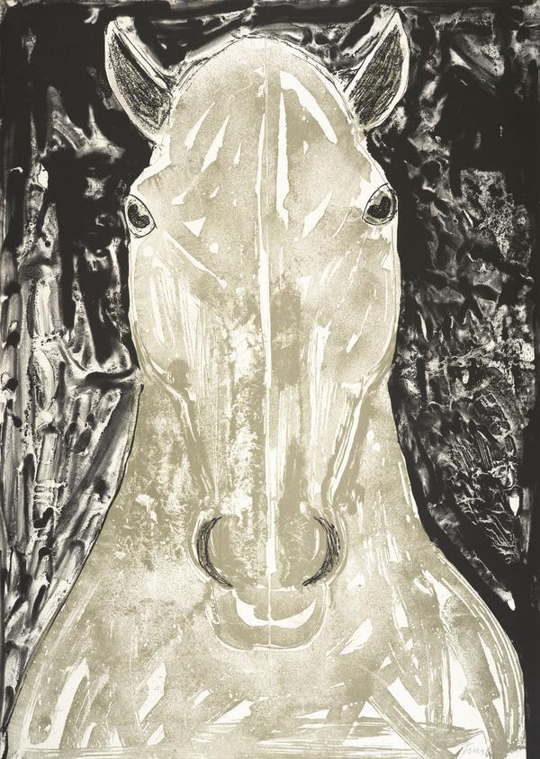 Grey Horse Head (1990)
