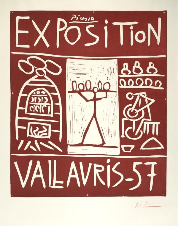 Exposition Vallauris, 1957 (1957)