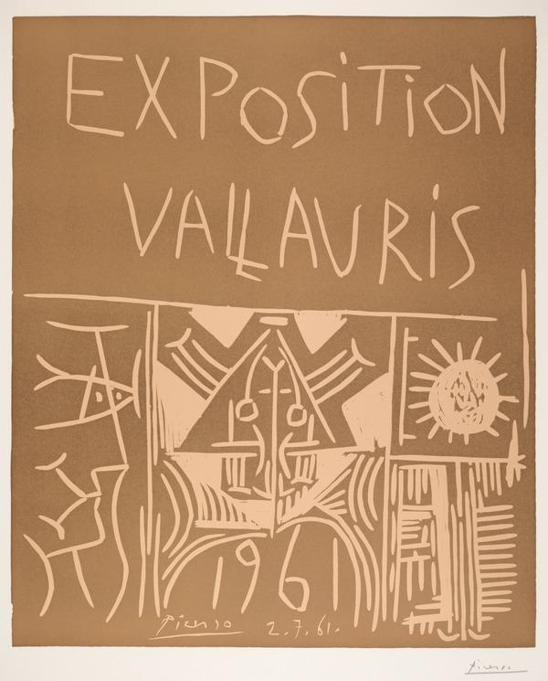 Exposition Vallauris, 1961 (1961)
