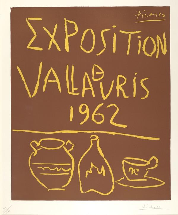 Exposition Vallauris, 1962 (1962)