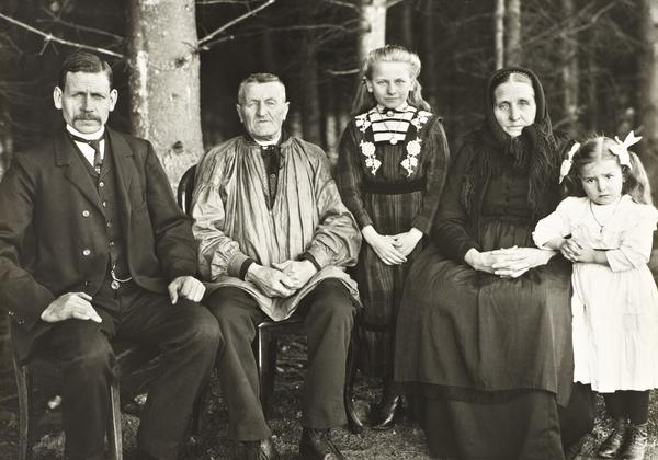 Three Generations of the Family, 1912 (1912)