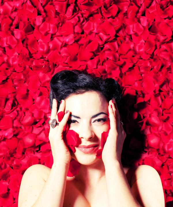 Camille O'Sullivan, b. 1970. Singer and Actress (2011)