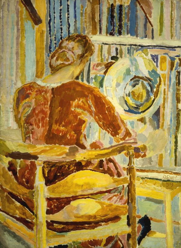 Vanessa Bell Painting (1915 (incorrectly dated 1913))