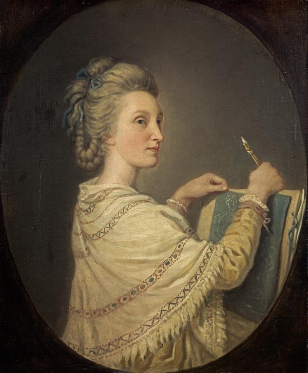 Anne Forbes, 1745 - 1834. Artist (1781)