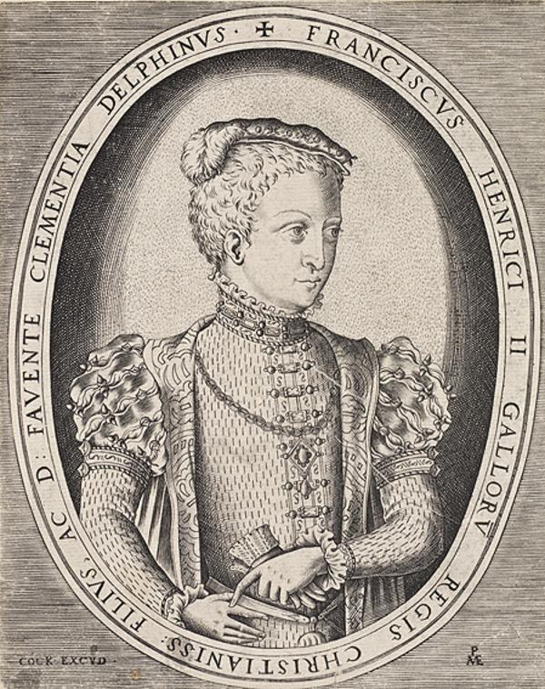 François II, 1544 - 1560. King of France (1551 - 1559)