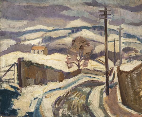 Snow near Lasswade (About 1928)
