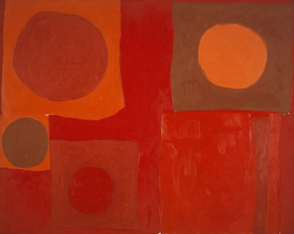 Red Painting: 25 July 1963 (1963)