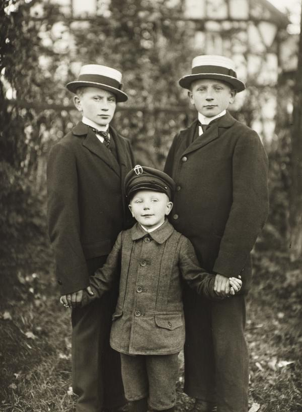 Three Brothers, c.1919 (about 1919)