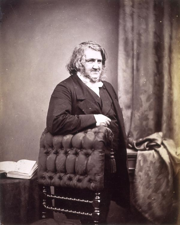 Sir James Young Simpson, 1811 - 1870. Discoverer of chloroform