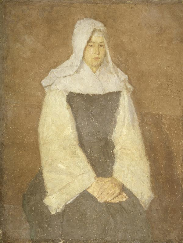 A Young Nun (About 1915 - 1920)