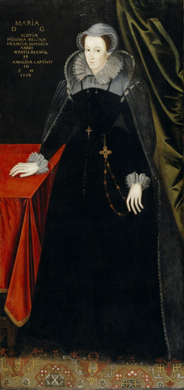 Mary, Queen of Scots, 1542 - 1587. Reigned 1542 - 1567 (About 1610 - 1615)