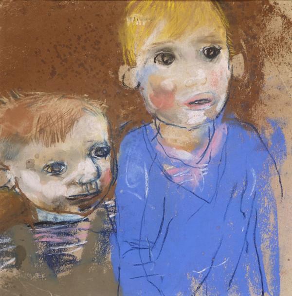 Two Boys (Glasgow Children) (About 1960)