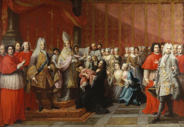The Baptism of Prince Charles Edward Stuart (1725)