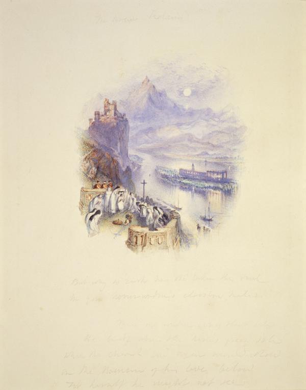 One of Twenty Vignettes -  The Brave Roland