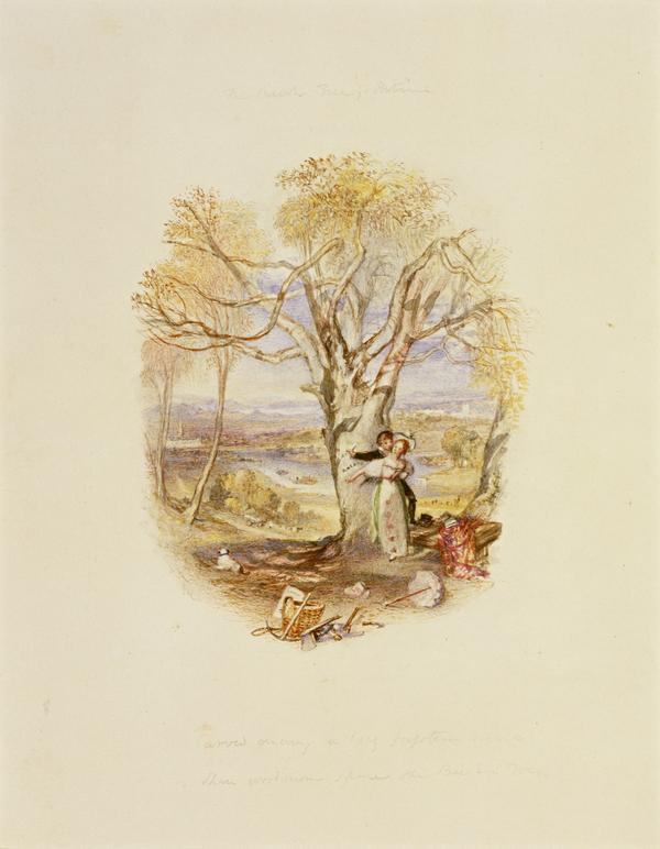 One of Twenty Vignettes -  The Beech Tree's Petition (About 1835)