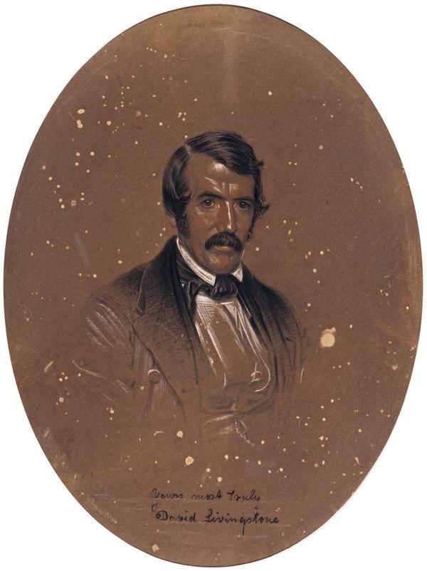 David Livingstone, 1813 - 1873. Missionary and explorer (1857)