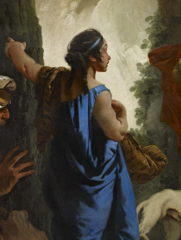The Finding of Moses (probably early 1730s)