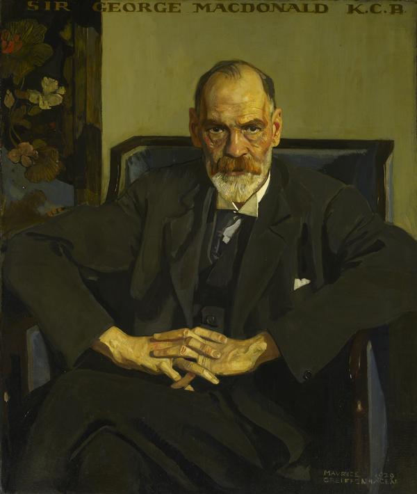 Sir George Macdonald, 1862 - 1940. Archaeologist (1929)