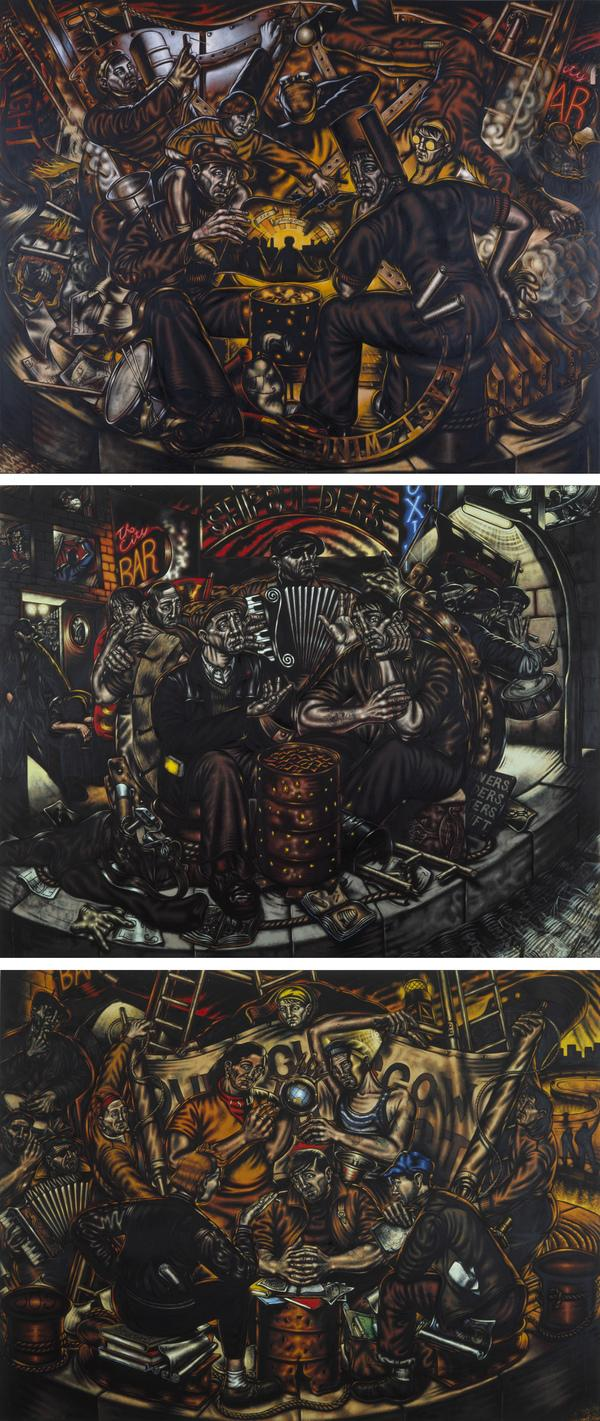 Glasgow Triptych (1986)