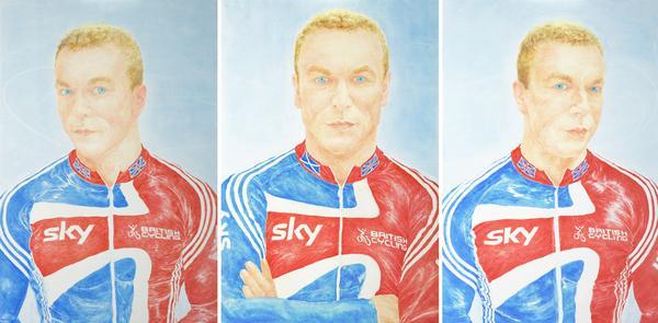 Sir Chris Hoy, MBE b. 1976. Cyclist