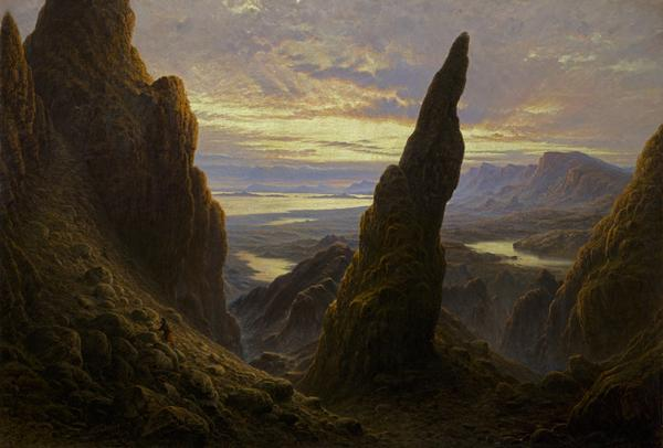 Entrance to the Cuiraing, Skye (1873)