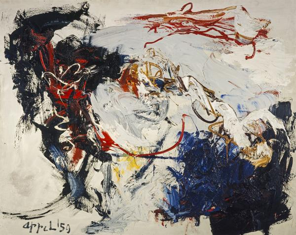 Danse d'espace avant la tempête [Dance in Space before the Storm] (1959)