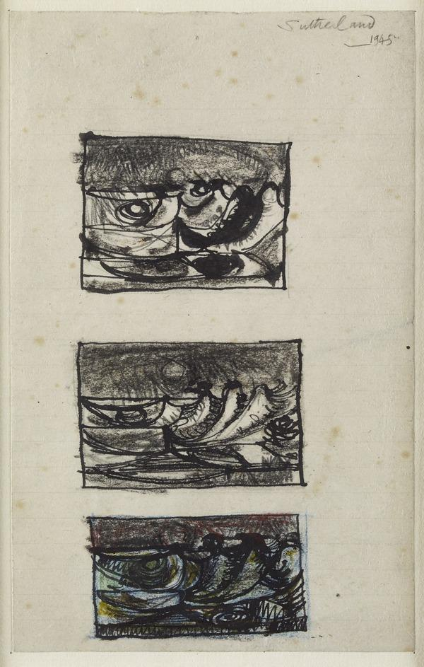 Three Sketches for Landscape (Pembrokeshire) (1945)
