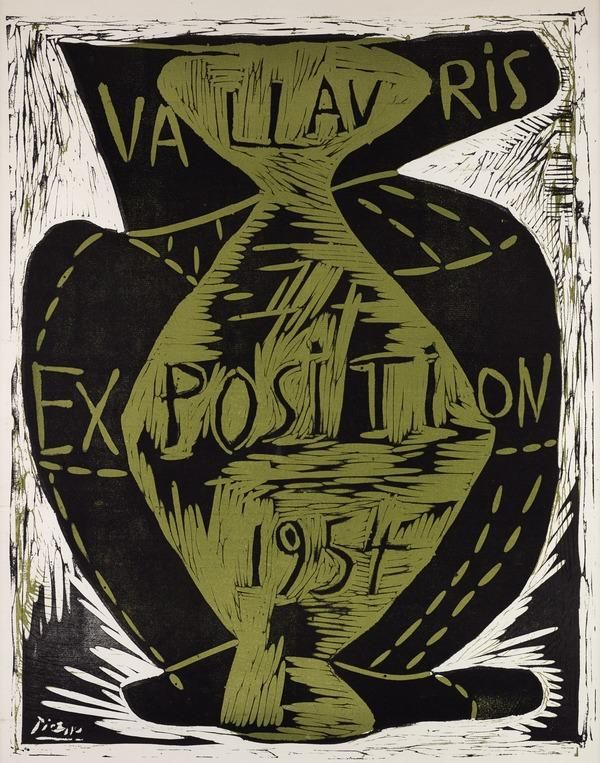 Exposition Vallauris,1954 (1954)