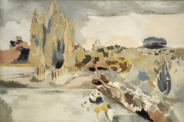 Landscape of the Brown Fungus (1943)