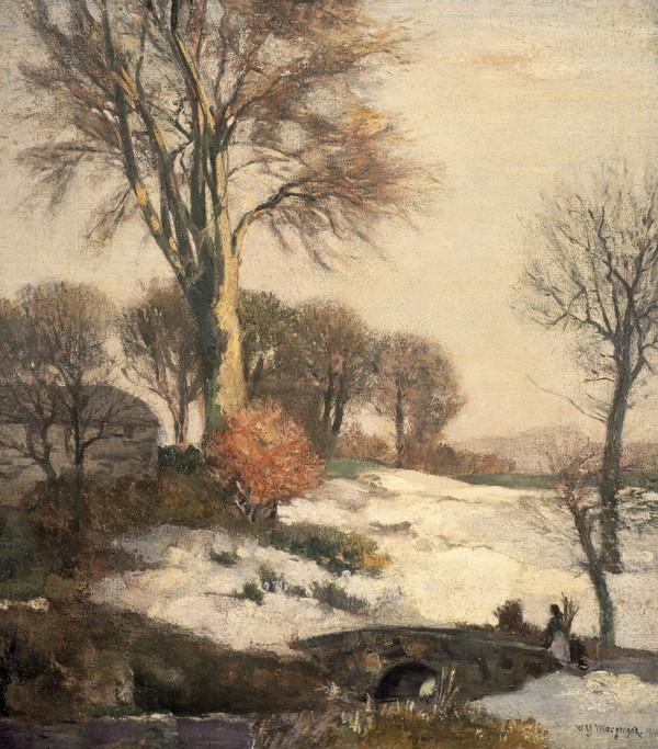 Winter Landscape (Dated 1908)