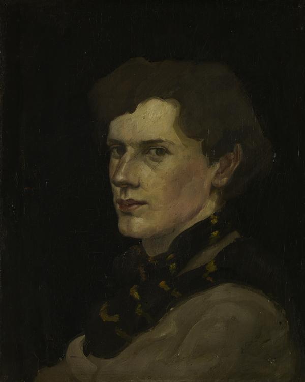 William McCance, 1894 - 1970. Artist, illustrator and typographer (Self-portrait) (1916)