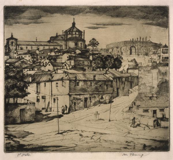 Spanish Village (About 1934)