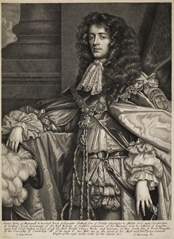 James Scott, Duke of Monmouth and Buccleuch, 1649 - 1685. Natural son of Charles II by Lucy Walter (After 1673)