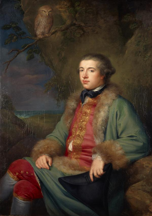 James Boswell, 1740 - 1795. Diarist and biographer of Dr Samuel Johnson (1765)