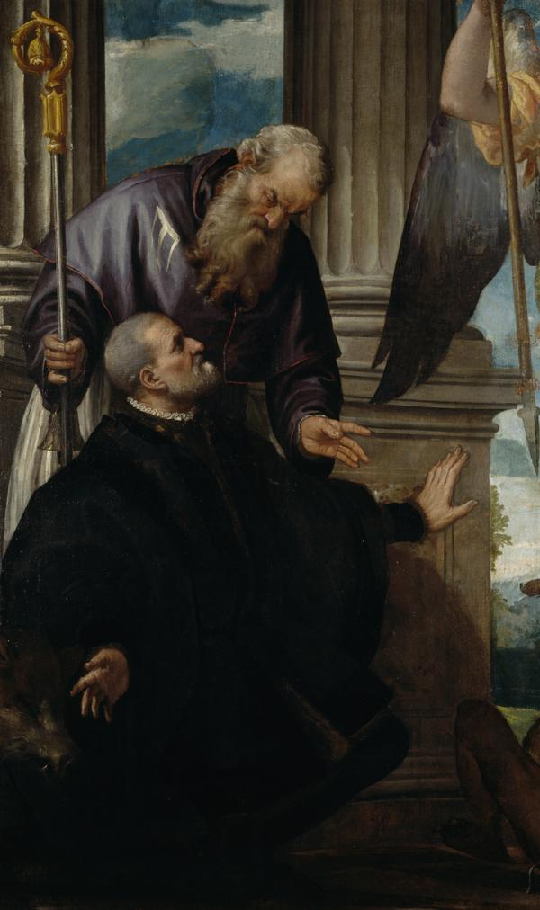 Saint Anthony Abbot as Patron of a Kneeling Donor (Probably after 1570)